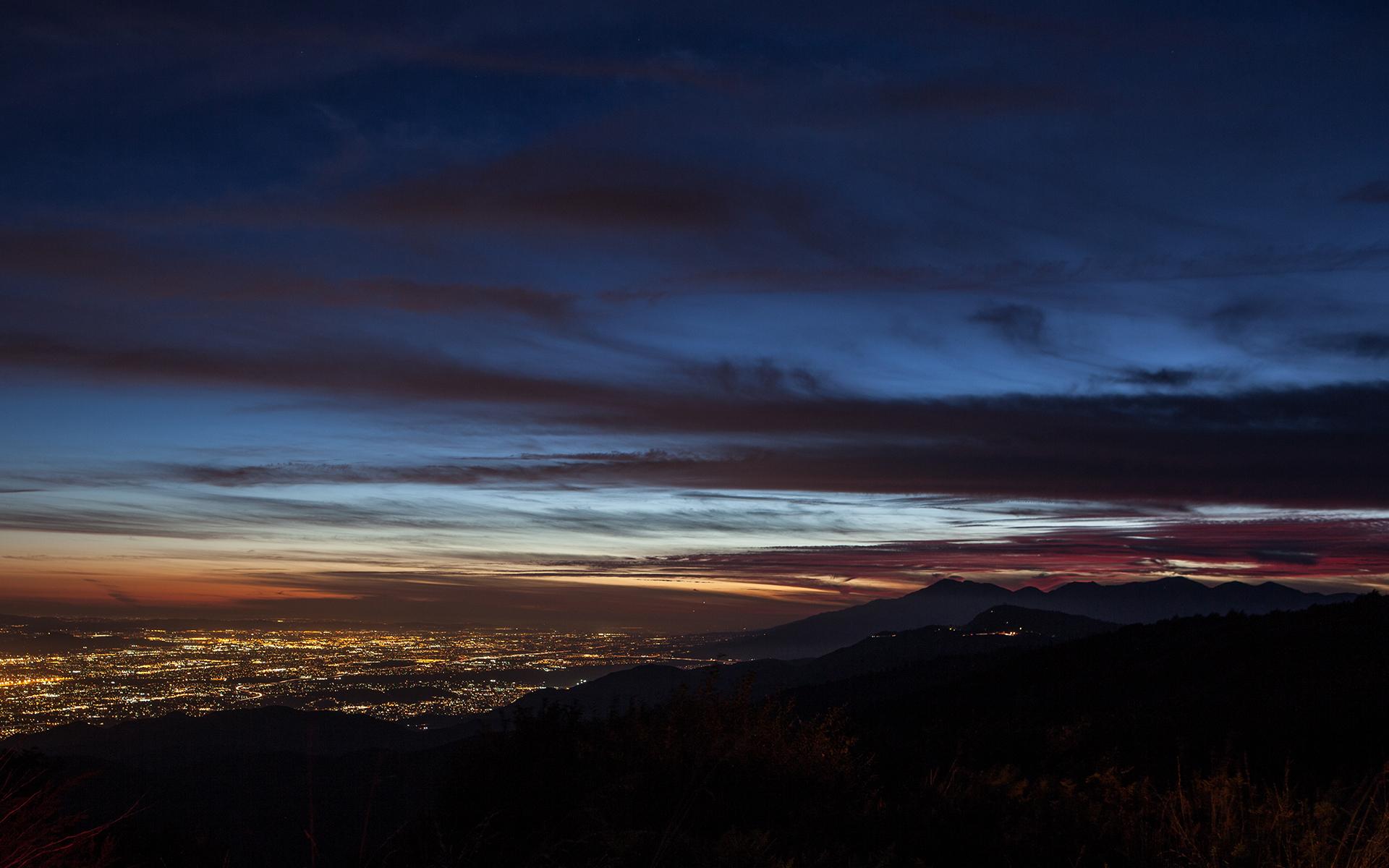 Running Springs Sunset