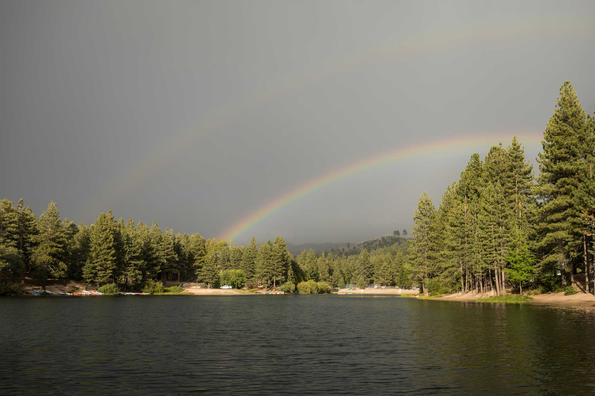 Double-Rainbow-Green-Valley-Lake
